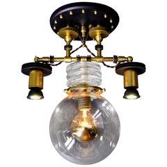 "Art Donovan ""Tesla 3-Light"" Pendant Lamp"