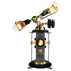 """/ ART DONOVAN /   """"University Observatory"""", Illuminated Sculpture/Table Lamp"""