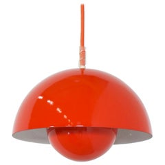 1/3 First Edition VP1 Flowerpot Pendant Lights by Verner Panton for Louis Poulse