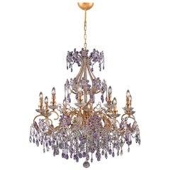 1457 10-Lights Metal Chandelier