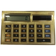 Deakin & Francis 18 Karat Gold Limited Edition Luxury Calculator