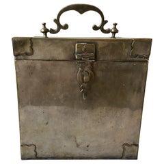 1880s English Silver Plate Box