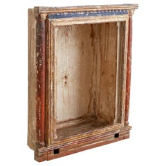 18th Century French Niche or Shrine Display Cabinet