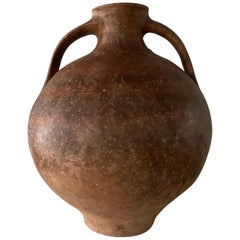 "18th Century Picher ""Cantaro"" from Calanda, Spain, Terracotta Vase"