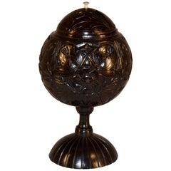 18th Century Sailor Work Lidded Jar