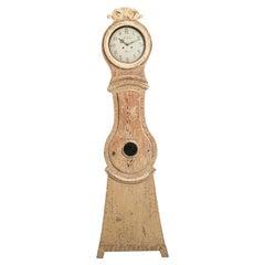 18th Century Swedish Gustavian Long Case Clock