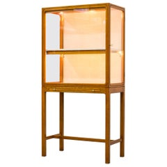 1940s Display Cabinet Attributed to Carl Axel Acking by Nordiska Kompaniet