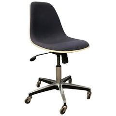 1958, Ray & Charles Eames, Herman Miller, PSCC Fiberglass Office Desk Chair
