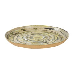 1960s Ceramic Platter by Gordon & Jane Martz for Marshall Studios