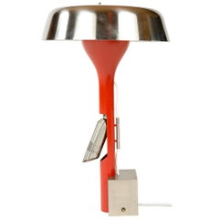 1960s Italian Desk Lamp by Angelo Lelli for Arredoluce