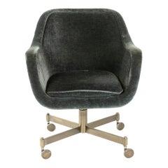 1960s Rolling Desk Chair by Ward Bennett for Brickel Associates