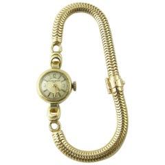 1960s Vacheron Constantin 14 Karat Yellow Gold Ladies Hand Winding Watch