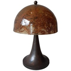 1970s Table Lamp Attributed to Gabriella Crespi