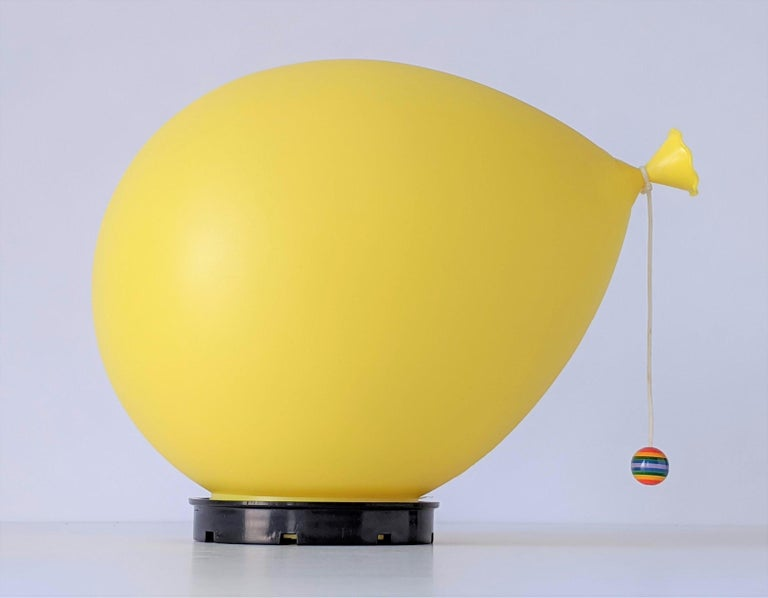 1970s Table, Wall or Ceiling Ballon Lamp by Yves Christin, Italy For Sale 7