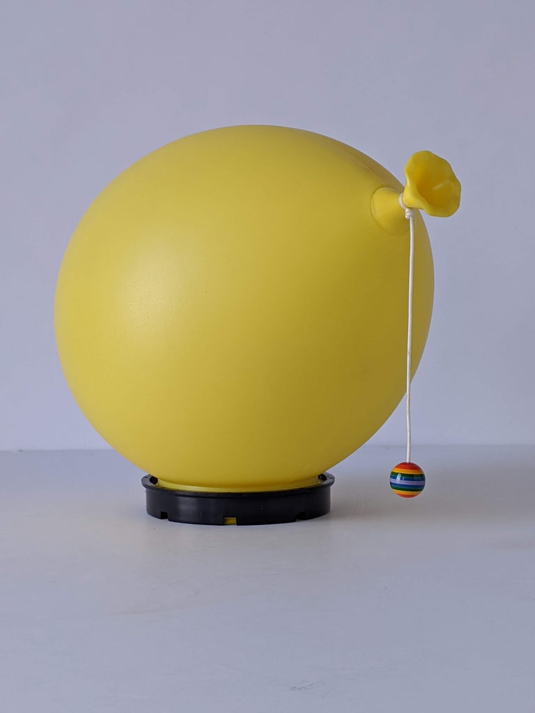 Mid-Century Modern 1970s Table, Wall or Ceiling Ballon Lamp by Yves Christin, Italy For Sale
