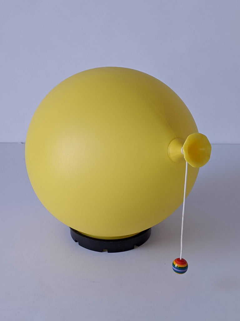 Italian 1970s Table, Wall or Ceiling Ballon Lamp by Yves Christin, Italy For Sale