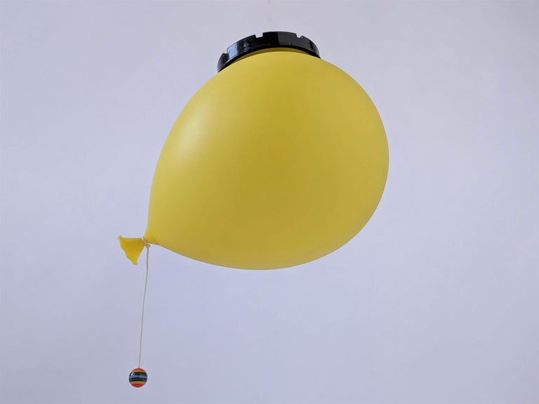 1970s Table, Wall or Ceiling Ballon Lamp by Yves Christin, Italy For Sale 1