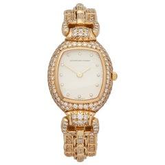 1990s Audemars Piguet Vintage Diamond Set Yellow Gold Wristwatch