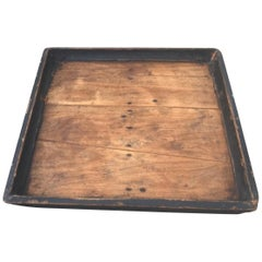 19th Century Bakers Tray in Old Surface