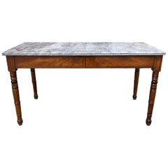 19th Century Irish Regency Slab Table / Console