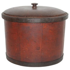 19th Century Shaker Style Container with Lid