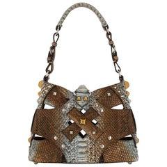 2000s Prada Python Leather Bag