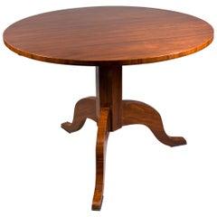 20th Century Table in the Biedermeier Style