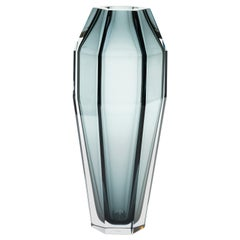 21st Century Alessandro Mendini Murano Transparent Glass Vase Various Colors