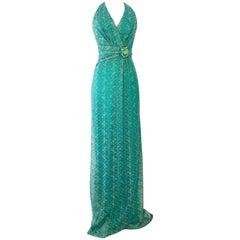 21st Century Missoni Style Maxi Dress By, David Meister NWT Size 4
