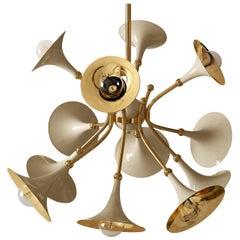 21st Century Monteral Suspension Lamp Brass