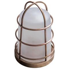 21st Century Purho Design Chiara Lantern Murano Glass and Brass Various Colors