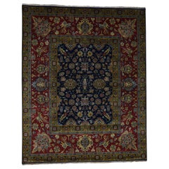 300KPSI New Zealand Wool Hand Knotted Oriental Rug