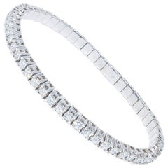 4.88 Carat Diamond Flex Bracelet