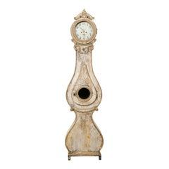 Beautiful 1820s Fryksdahl Grandafther Floor Clock from Sweden