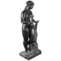 Bronze Sculpture After Le Grande Venus Victrix by Pierre-Auguste Renoir