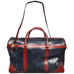 A French Leather Travel Bag from Clément Collection - Lyon House Circa 1980