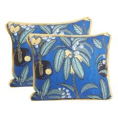 Pair of Josef Frank Notturno Cushions