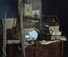 Still-Life in Studio - 21st Century Contemporary Oil Painting by Ksenya Istomina