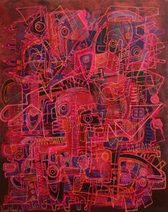 Mystical Dialogues IV, Contemporary Art, Abstract Art, 21st Century