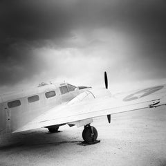 Beechcraft AT-7 Navigator, AZ, USA - Black and White Fine Art Film Photography