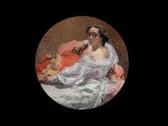"""SEATED ELEGANT LADY, 1905"""