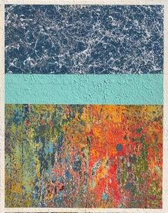 Kaleidoscope Love, 2018, Spray Paint on Canvas, Signed on Verso