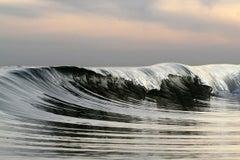Mercury Wave, Oceanscape Fine Art Photography, Framed in Plexiglass, Signed