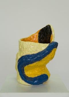 Marliz Frencken, ceramic vase (sculpture, object, modernist, interior)