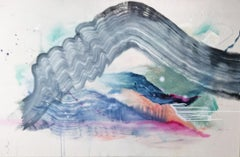 Contemporary Abstract painting, Rebecca Stern, Conversations Under Water II