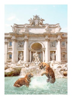 Trevi Tigers - Oversize Signed Limited Edition Print