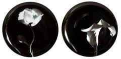 Robert Mapplethorpe, Pair of Porcelain Plates