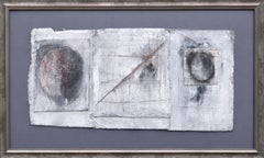 """""""What Came Up Through the Trees"""" Abstract Triptych"""