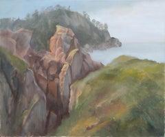 Misty Vista at Big Sur - Landscape Kenneth Lucas