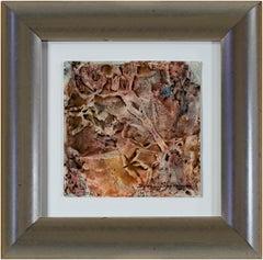 """""""Coral Rocks"""" original watercolor composition by Sylvia Spicuzza"""